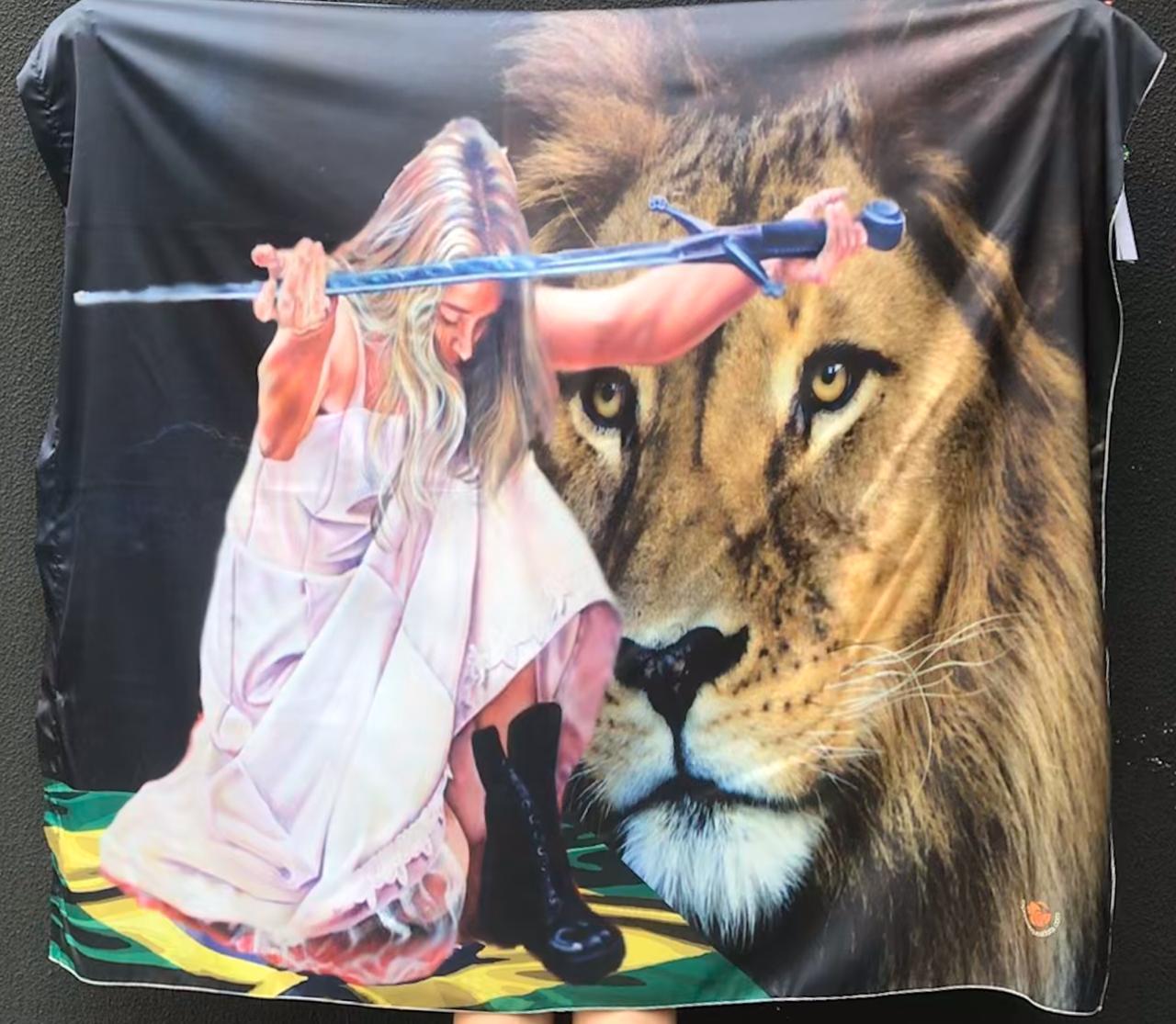 Bandeira Noiva Guerreira
