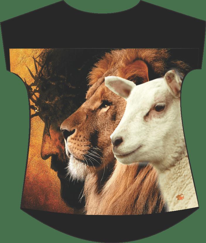 Blusinha Yeshua 2019 - pala renda