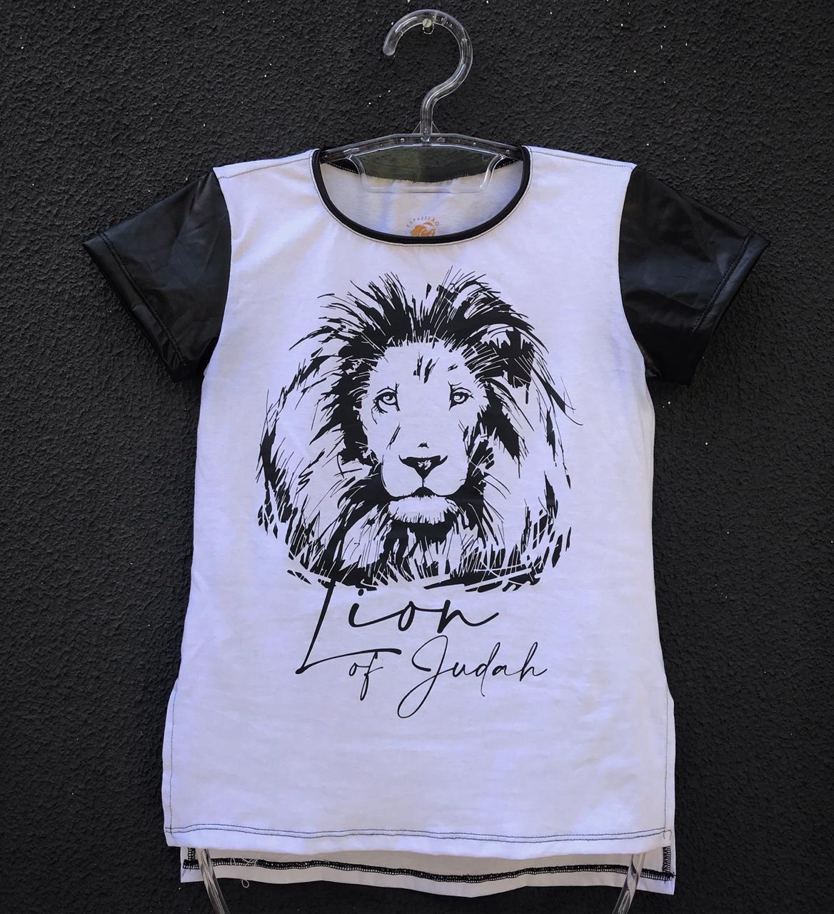 Camiseta CTF202 - Linha Família Lion of Judah Feminina