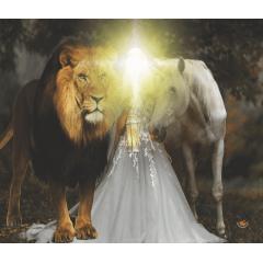Bandeira BDA207 - Leão / Noiva /Cavalo