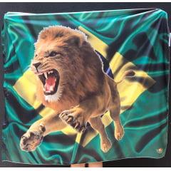 Bandeira Brasil/Leão