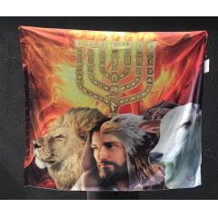 Bandeira Menorah/4 Seres