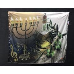 Bandeira Menorah/Azeite