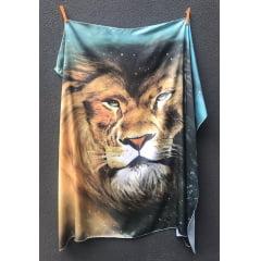 Bandeira Leão Universo