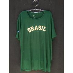 Camiseta BrasilxIsrael Verde Feminina