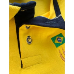 Polo Feminina BrasilxIsrael Amarela