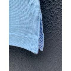 Polo Masculina Nações Azul